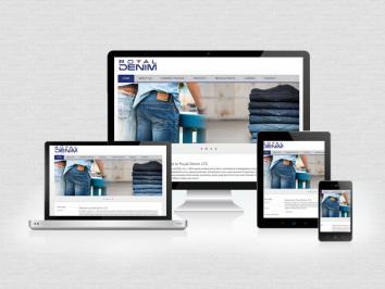 Web Development Project for Royal Denim Ltd by ReVe IT