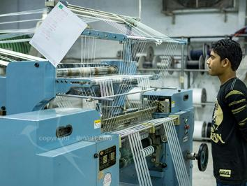 Professional Industrial Garments Factory Photography for Green Pack by REVE IT